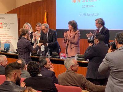 El vespellenc Nil Bartolozzi, distingit en el III Congrés Català de Cuina