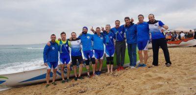 L'equip de Vogadors Baix a Mar lidera de les Regates de Llarga Distància