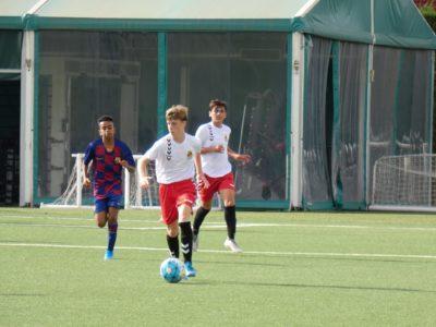 El jove torrenc Pol Lecha, convocat amb la selecció catalana sub-14