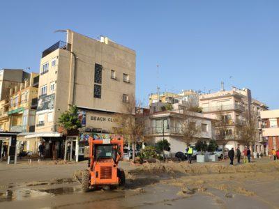 L'Ajuntament avalua en uns 15.000 euros els danys pel pas del Temporal 'Gloria'