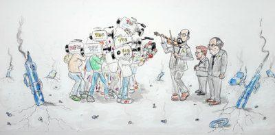 'Olla barrejada' per Víctor Centelles
