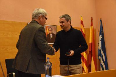 Josep Maria Calvet pren possessió com a regidor de JuntsxTDB a l'Ajuntament de Torredembarra
