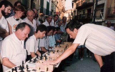 Mor Lluís Olivé, un dels fundadors i tresorer durant 17 anys del Club Escacs Torredembarra