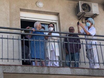 Emotiva celebració dels 100 anys de la 'Consuelito' a Creixell