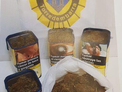 Detingut un veí de Torredembarra amb més de 200 grams de marihuana