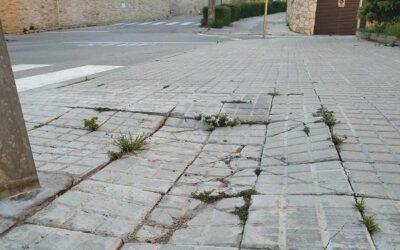 Pla de xoc a Altafulla per a l'arranjament de voreres