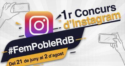 La regidoria de Comerç de Roda de Berà organitza el primer concurs d'Instagram #FemPobleRdB