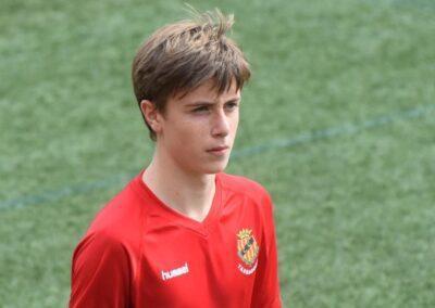 El jove futbolista torrenc Pol Lecha fitxa pel Barça