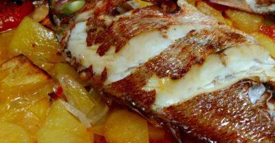 Déntol al forn: una recepta excel·lent amb peix de la nostra costa