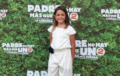 S'estrena als cinemes 'Padre no hay más que uno 2', amb la jove actriu creixellenca Íngrid Palomares