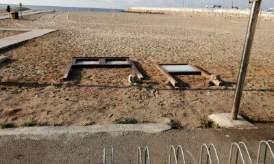 Les platges de Roda de Berà, escenari d'actes incívics