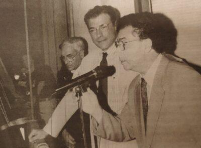 ARA FA 25 ANYS l L'actor Sergi Mateu, pregoner de luxe de la Festa Major de Santa Rosalia 1995