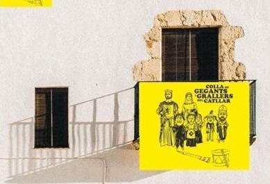 La Colla de Gegants i Grallers del Catllar engega la campanya 'Cap balcó sense #banderagegantera!'