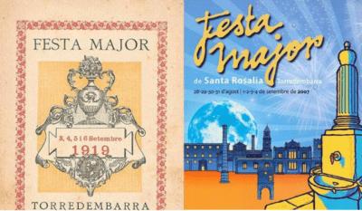 Com eren els programes de la Festa Major de Santa Rosalia fa un segle?