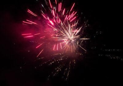 Focs artificials silenciosos a Roda de Berà