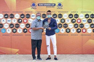 Llorenç Gómez, altre cop màxim golejador de l'Euro Winners