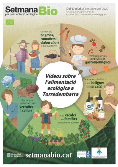 Torredembarra se suma a la 'Setmana Bio per l'alimentació ecològica' amb la difusió de vídeos a les xarxes socials