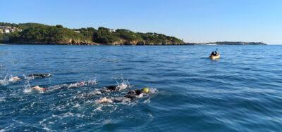 Nou nedadors assoleixen per primer cop el repte de la I Via Augusta Nedant