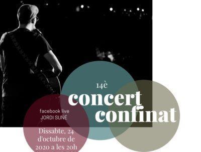 Tornen els concerts confinats des del terrat de casa del músic torrenc Jordi Suñé