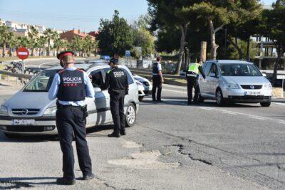Primeres denúncies per incomplir el confinament municipal per la Covid-19 al Baix Gaià