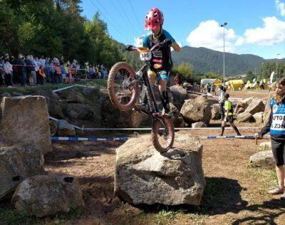 Axel Méndez (Bikepark Bauhaus Torredembarra) frega el podi a la Copa d'Espanya de Trial