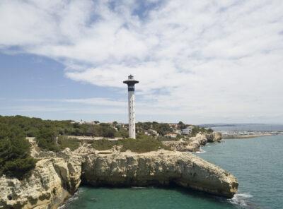 El far, un trosset del Port de Tarragona a Torredembarra