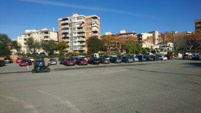 Bretolada que farà allargar les obres de l'aparcament de la Sort de Torredembarra