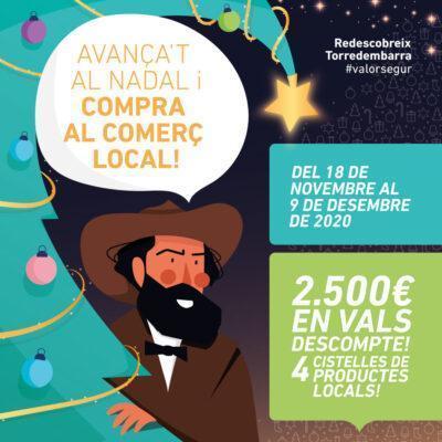'Avança't al Nadal i compra al comerç local!', el nou concurs a Torredembarra
