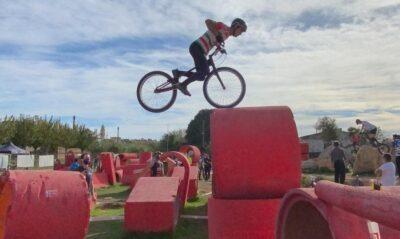 Tres podis dels pilots Bikepark BAUHAUS Torredembarra al Campionat d'Espanya de Trial
