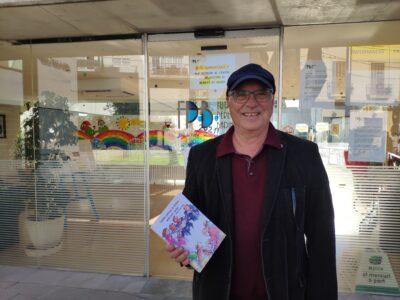 Gabriel Comes escriu un llibre sobre la seva experiència com a voluntari a la Fundació Pere Badia