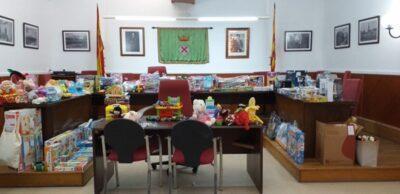 Creixell recull una vuitantena de joguines solidàries per repartir-les per Reis