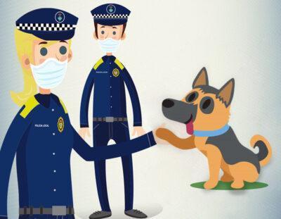 La Policia Local de Roda de Berà ha recollit 40 gossos perduts o abandonats durant el 2020