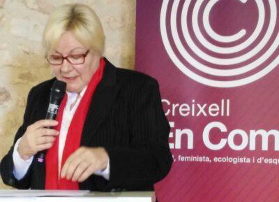 La creixellenca Roser Escrich, número 4 de la candidatura dels Comuns al Parlament