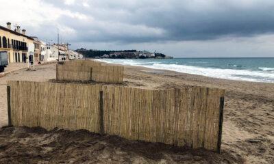L'Ajuntament d'Altafulla continua les accions que s'emmarquen en el pla de gestió de la platja