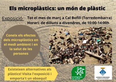 Els microplàstics protagonitzen la nova exposició que es podrà visitar a Cal Bofill tot el mes de març