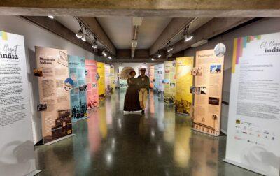 L'exposició 'El llegat indià, un passat en comú per descobrir' es pot veure a Torredembarra fins el 14 d'abril