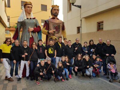 La Colla de Gegants i Grallers del Catllar participa en el 33è Aplec internacional a l'Alguer