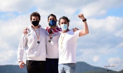 Bronze del torrenc Jordi Borràs en el Campionat de Catalunya de piragüisme