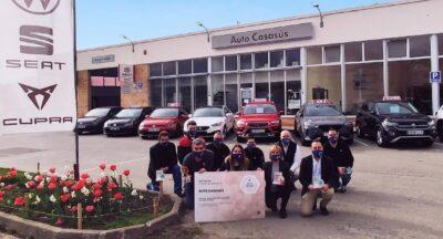 Auto Casasús guanya per quart any consecutiu el Premi Excel·lència SEAT