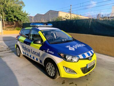 La Policia Local de Roda de Berà està d'estrena amb nova imatge exterior i un nou vehicle