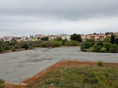 L'aparcament de Lluís Companys s'acabarà finalment la primera setmana de maig