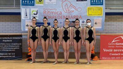 Torredembarra és la seu del Campionat de Catalunya Base Individual de Gimnàstica Rítmica