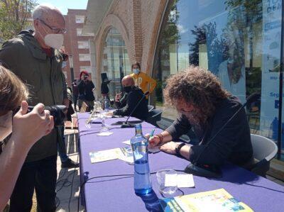 L'autor i l'il·lustrador de 'La Padrina Rosalia i el tresor del Roquer' signaran per Sant Jordi de 18 a 19 hores