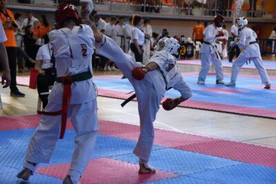 Torredembarra acull el 8 de maig el Campionat d'Espanya de Karate Kyokushin amb 120 participants