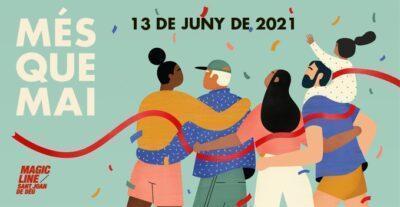 Torredembarra participa en la Magic Line, la iniciativa esportiva i solidària de l'Obra Social de Sant Joan de Déu