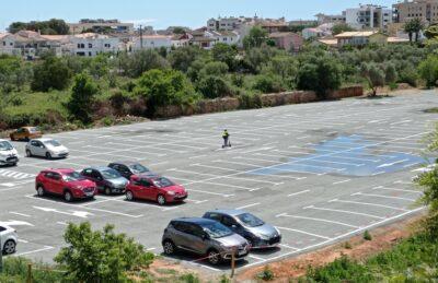 Reobre el pàrquing de Lluís Companys i Torredembarra suma 400 places d'aparcament gratuït en superfície