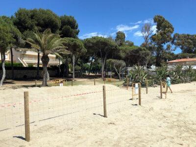 La platja d'Altafulla repeteix la distinció de qualitat Bandera Blava