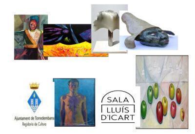 Exposició de pintures i escultures Avel·lí Perpiñán a la Sala Lluís d'Icart aquest mes de juny