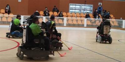 Torredembarra acull el 6 de juny la Copa Catalunya d'hoquei en cadira de rodes elèctrica