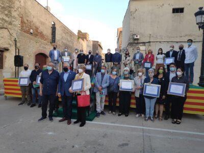 Entitats i personalitats del Baix Gaià reben distincions de Mèrit de Serveis Distingits del Tarragonès